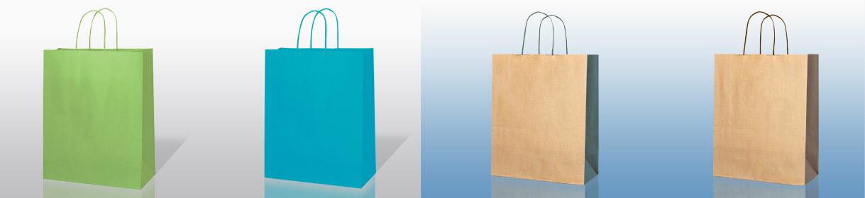 Colores para Bolsas Genéricas: Verde claro, Turquesa; Bicolor: Habano con fuelle Verde oscuro, Habano con fuelle Marrón