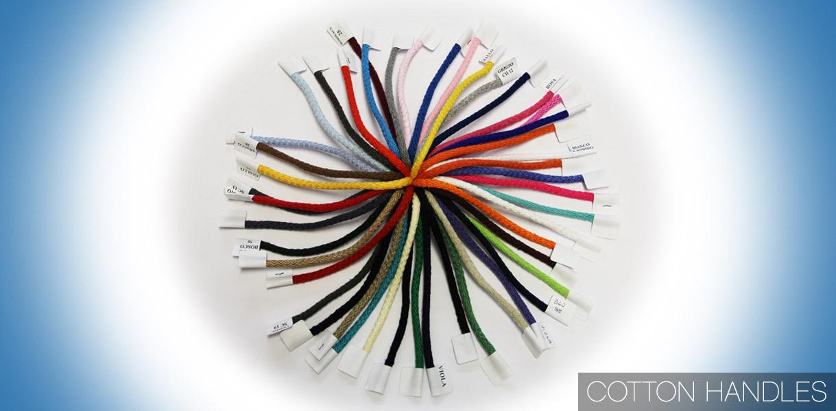 La amplia gama de cuerdas en algodón