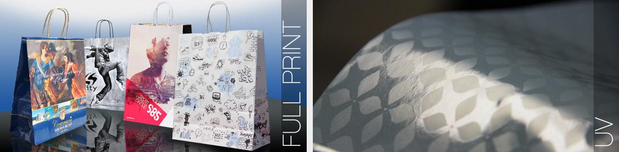 Ejemplos de impresión Fondo Lleno y UV