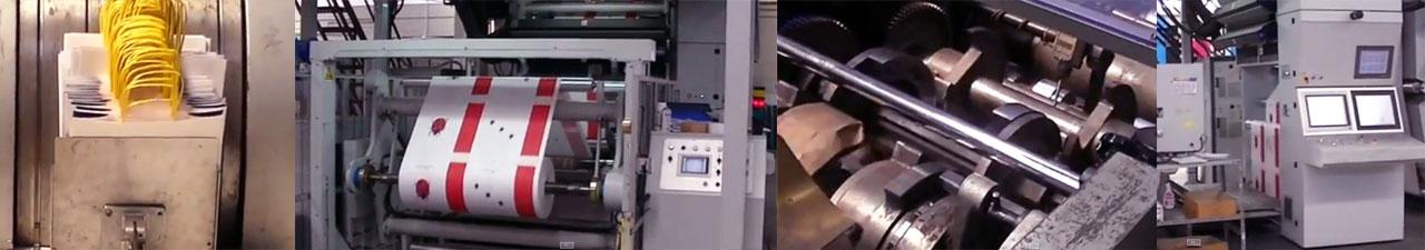 Producción de bolsas de papel en Ecocart Spa Italia